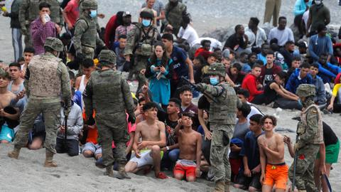 Morocco denounces EU resolution over migrant influx into Ceuta enclave