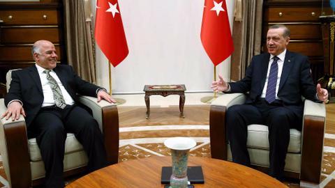 Erdogan, Iraqi PM back court's suspension of KRG referendum