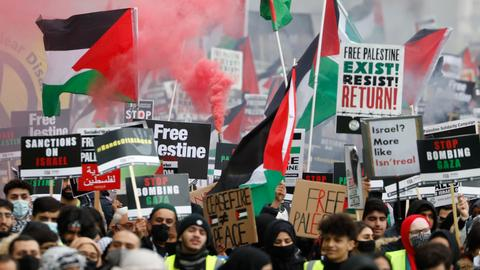Poll shows many Democrats want more US support for Palestinians