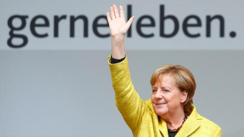 Merkel eyes fourth term as Germans head to the polls
