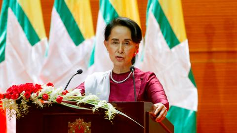Suu Kyi stops short of apportioning blame for Myanmar's Rohingya crisis