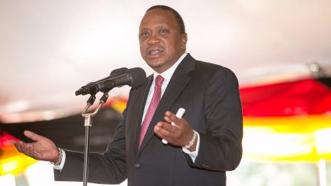 Kenyan president says Supreme Court election ruling was
