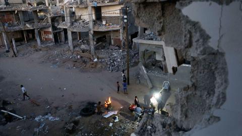 Gaza's reconstruction critical for maintaining ceasefire: Hamas