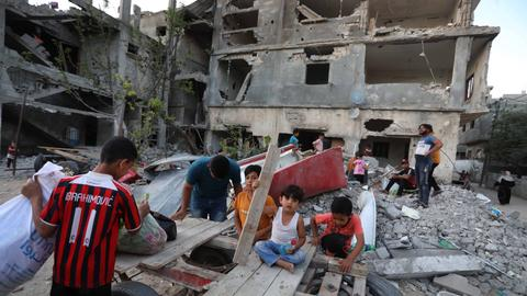 Rights group finds evidence of war crimes by Israel in 11-day war on Gaza