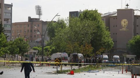 Explosion kills two police officers in Turkey's Gaziantep