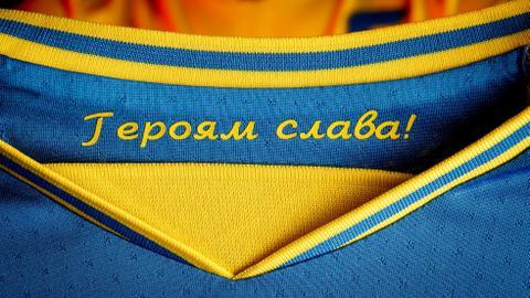 UEFA tells Ukraine to keep map but lose 'political' slogan in football kit