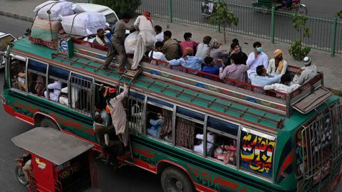 Scores dead after bus carrying pilgrims overturns in southwest Pakistan