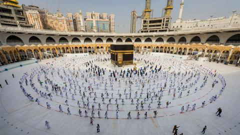 Saudi Arabia limits Hajj to only 60,000 vaccinated nationals, residents