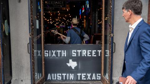 Shooting in downtown Austin, Texas wounds several people