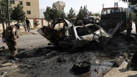 Twin bombings cause several fatalities in Afghan capital