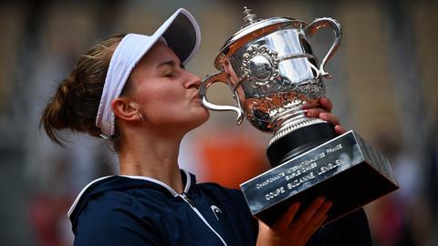 Czech Republic's Barbora Krejcikova wins French Open women's title