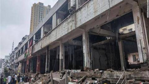 Several dead in China gas line explosion