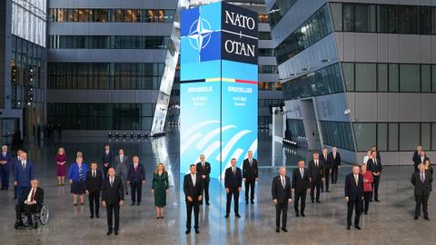 NATO leaders vow to work together against 'systemic' China threat