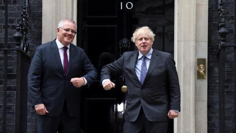 Australia and Britain reach free trade agreement