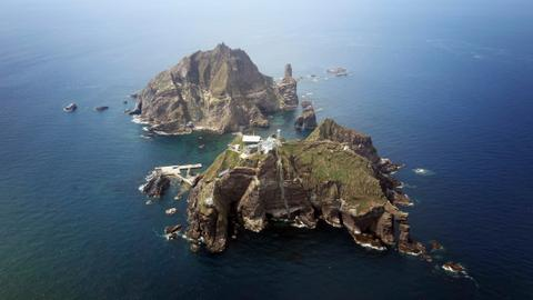 South Korea holds drills around disputed islets amid map row with Japan