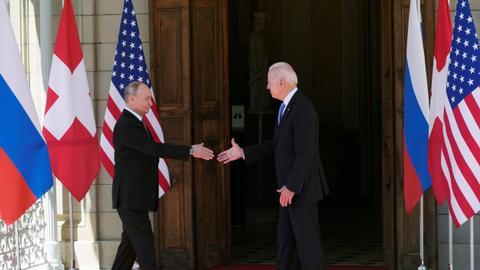 Biden and Putin meet at high-stakes Geneva summit