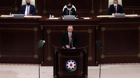Turkey's President Erdogan urges for peace, stability in Caucasus