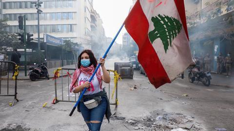Lebanon workers go on general strike over deteriorating economy