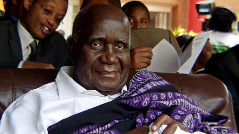 Zambia's founding president, Kenneth Kaunda, dies aged 97
