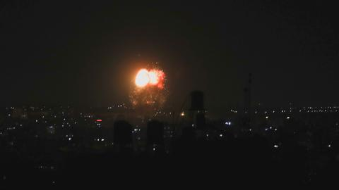 Israel continues air assault on besieged Gaza