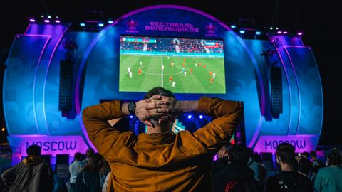 Moscow closes Euro fan zone over Covid-19 spike – latest updates