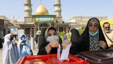 Iran votes for new president, with hardline judge tipped to win