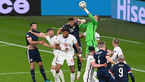 England held by Scotland at Euro 2020 as Croatia face battle to qualify