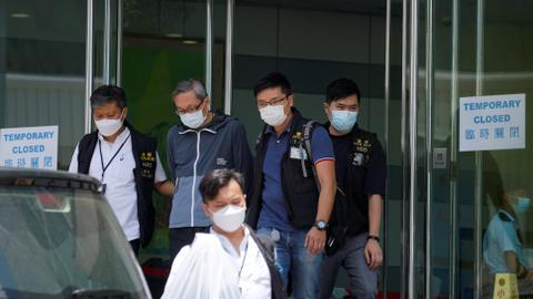 Media execs charged with national security law denied bail in Hong Kong