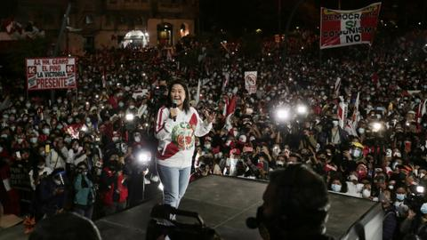 Big rallies in Peru amid tensions over presidential vote result