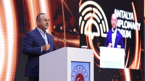Turkey's Cavusoglu hails 'successful' Antalya Diplomacy Forum meeting