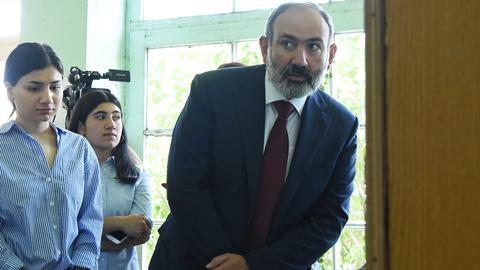 Armenian PM Pashinyan's party wins majority in snap parliamentary polls