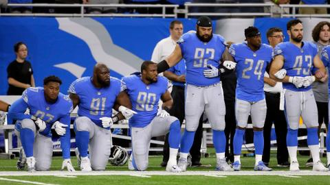 Take a knee: standing up for social justice