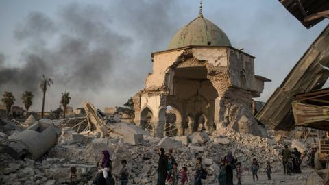A tale of two hunchbacks: Notre Dame of Paris and her Iraqi Sister