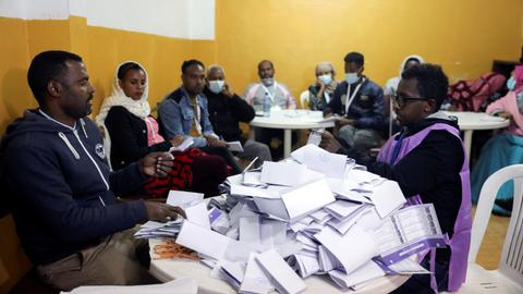 Ethiopia counts votes after crucial parliamentary election