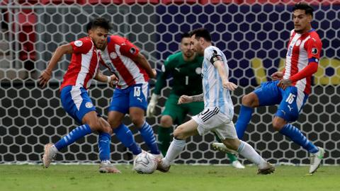 Argentina cruise to Copa America knockouts after beating Paraguay
