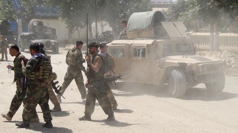 Taliban seizes Afghanistan's Tajikistan border crossing in northern assault