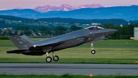 Is Switzerland set to snub the EU and purchase the US F35?