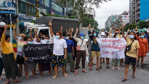 Several dead as Myanmar army clashes with anti-junta militia