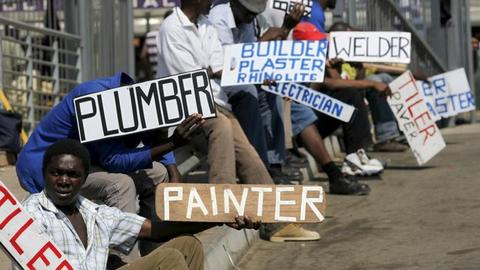 South Africa's Born-Free youth shackled by unemployment