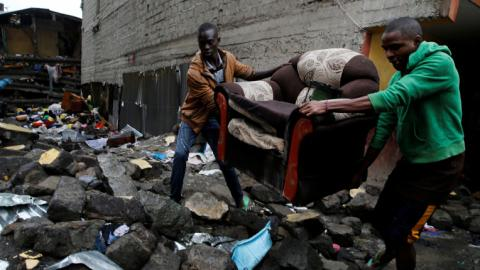 Kenya building collapse death toll rises to 16