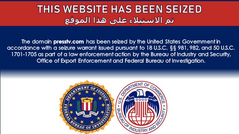 US 'seizes' Iran's state-linked news websites