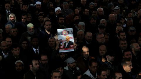 Report: Jamal Khashoggi's assassins had US paramilitary training