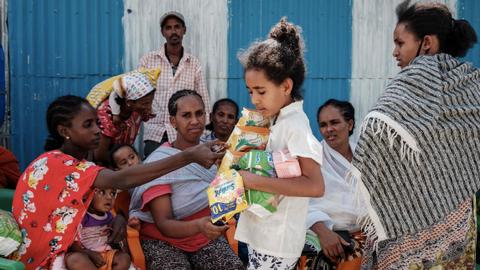 Air strike in Ethiopia's Tigray kills dozens of people – witnesses