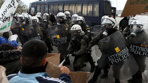 Illegal pushbacks are 'de facto border policy' in Greece