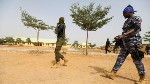 Gunmen storm Nigeria prison, free some 240 inmates