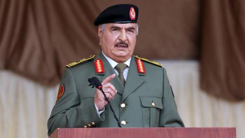 Libyan warlord Haftar hires American lobbyists to woo Biden