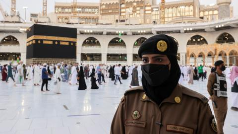 Saudi female officers allowed to guard Islam's holiest sites for first time
