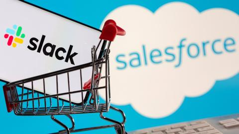 Salesforce bets on Slack to make it top workplace software provider