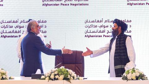 Taliban: No peace until Afghanistan has new broad-based government
