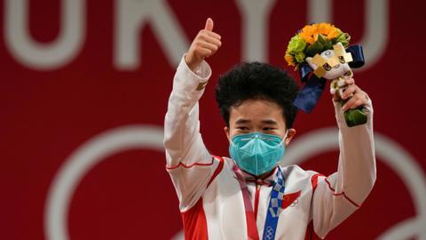China strikes gold at Olympics, Ecuador's Carapaz bags cycling crown